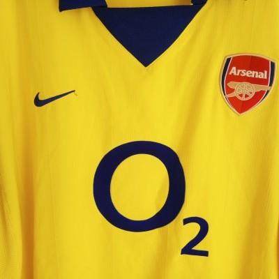 "Arsenal FC Away Shirt 2003-2004 (XXL) ""Very Good"""