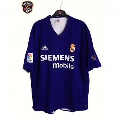 "Centenary Real Madrid Away Reversible Shirt 2001-2002 (XL) ""Very Good"""