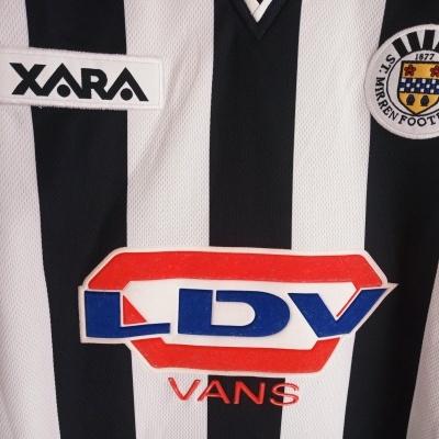 """ST Mirren FC Home Shirt 2001-2002 (XL) """"Very Good"""""""