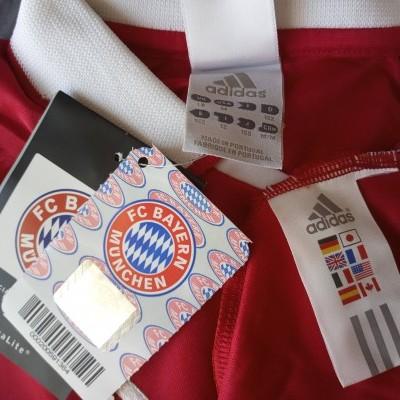 NEW Bayern Munich Home Long Sleeve Shirt 2003-2004 (M Youths)