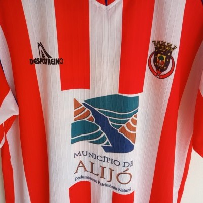 "Matchworn Atletico Aljoense Football Home Shirt 2016-2017 #15 (XL) ""Very Good"""