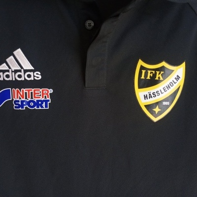 "IFK Hässleholm Polo Shirt 2015 (M) ""Very Good"""