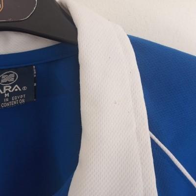 "Cardiff City FC Home Shirt 2000-2001 (M) ""Average"""