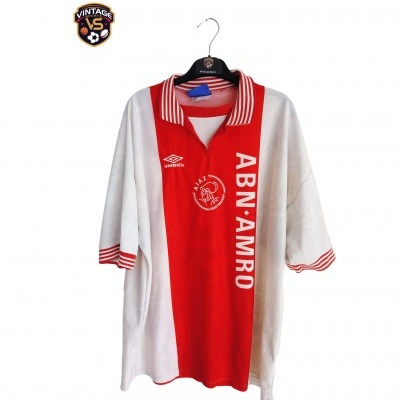 "Ajax Amsterdam Home Shirt 1996-1997 (XXL) ""Very Good"""