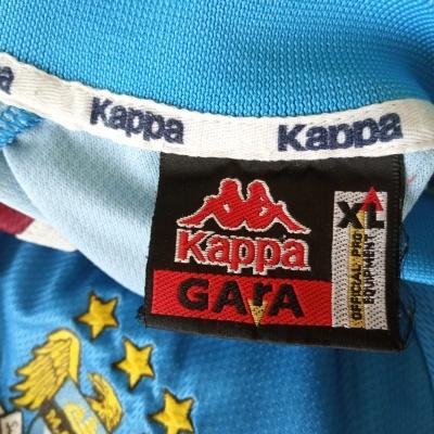 """Manchester City Home Shirt 1997-1998 (XL) """"Very Good"""""""