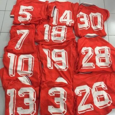 Holland Home Shirt 1992-94 (L) Matchworn