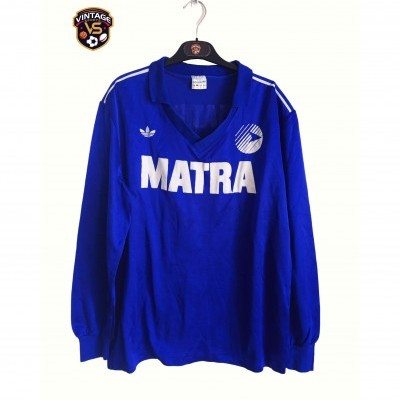 "Matchworn Matra Racing Paris Away Shirt 1987 (XL) ""Very Good"""