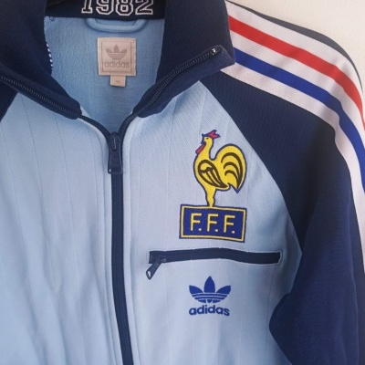 "France Track Top Jacket 1982 (XS) ""Very Good"""