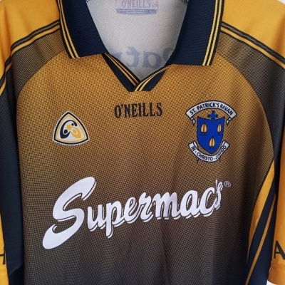 "Matchworn ST Patricks Navan GAA Gaelic Shirt (L) ""Good"""