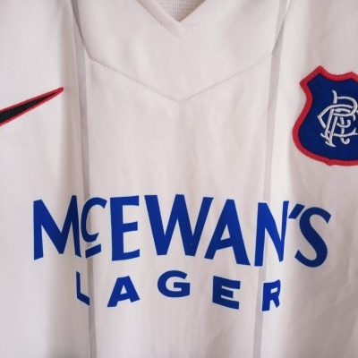"Glasgow Rangers FC Away Shirt 1997-1999 (XL) ""Good"""