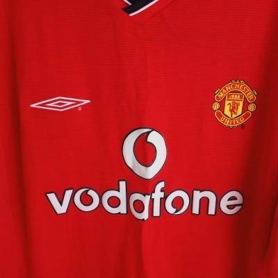 "Manchester United Home Shirt 2000-2002 (L) ""Good"""
