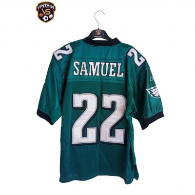 "Philadelphia Eagles NFL Jersey #22 Samuel (48) ""Very Good"""