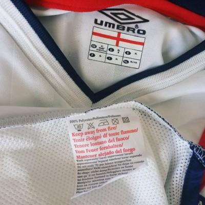 NEW England Home Shirt 2001-2003 (XL)