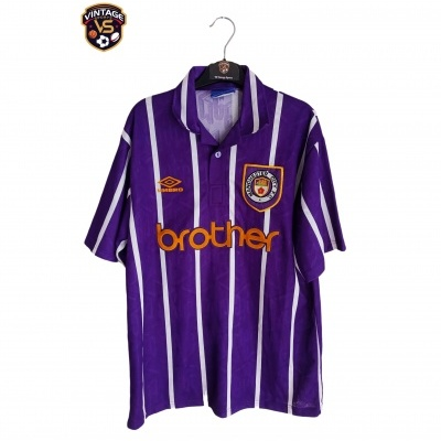 "Manchester City Away Shirt 1992-1994 (L) ""Very Good"""