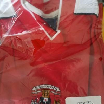 NEW Coventry City FC Away Shirt 2003-2005 (XXL)