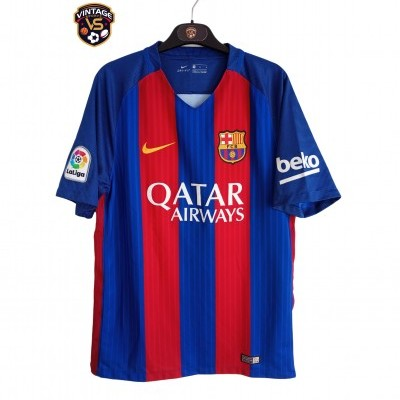 "FC Barcelona Home Shirt 2016-2017 (M) ""Very Good"""