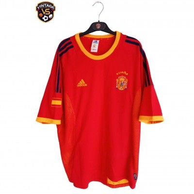 "Spain Home Shirt 2002-2004 (XL) ""Perfect"""