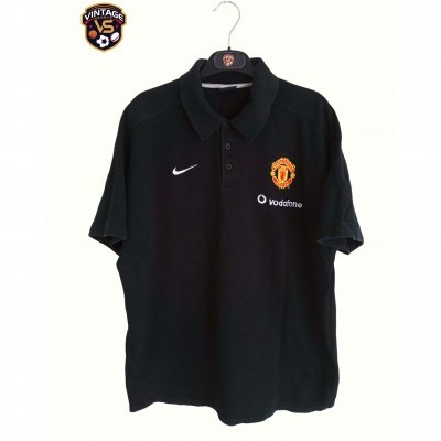 "Manchester United Issue Polo Shirt 2000s (L) ""Good"""