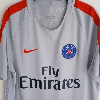 "Paris SG PSG Training Shirt 2017-2018 (L) ""Very Good"""