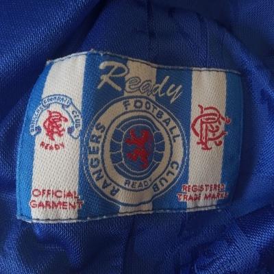 "Glasgow Rangers FC Home Shirt 1996-1997 (L) ""Good"""