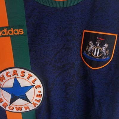 "Newcastle United Away Shirt 1997-1998 (L) ""Very Good"""