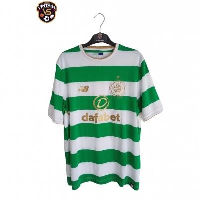 """Celtic FC Home Shirt 2017-2018 Lisbon Lions (M) """"Perfect"""""""