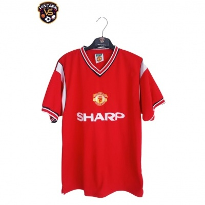 """Official Retro Manchester United Home Shirt 1984-1986 (M) """"Very Good"""""""