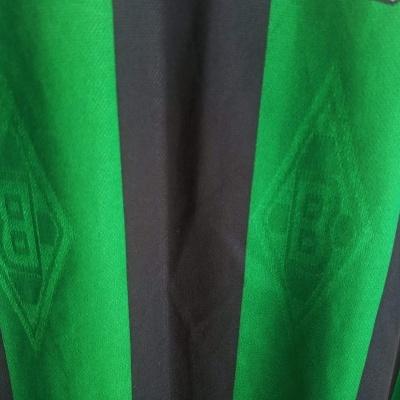 "Borussia Mönchengladbach L/S Away Shirt 1995-1996 (L) ""Very Good"""