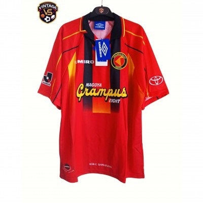 NEW Nagoya Grampus Issue Shirt 1996-1998
