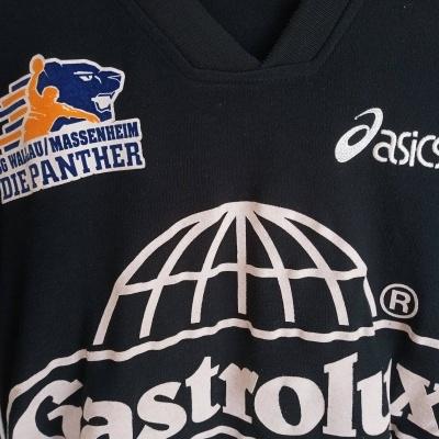 "Matchworn SG Wallau Massenheim Handball Shirt #5 (S) ""Very Good"""