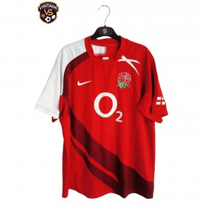 "England Rugby Away Shirt 2007-2009 (L) ""Very Good"""
