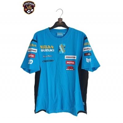 NEW T-Shirt Suzuki Rizla Superbikes Moto GP #19 Bautista (M)