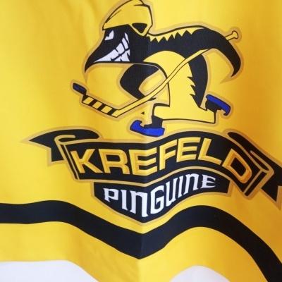 "Krefeld Pinguine Ice Hockey Jersey (54) ""Very Good"""