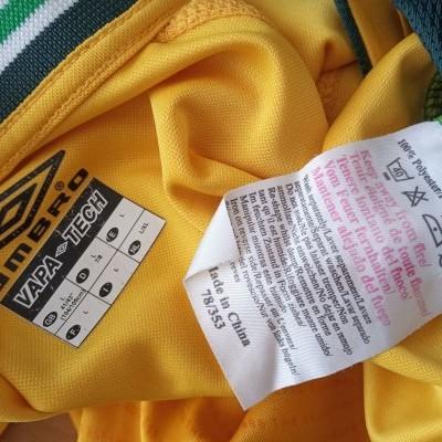 "Celtic Glasgow FC Away Long Sleeve Shirt 2002-2003 (L) ""Good"""