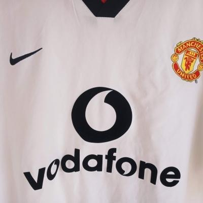 """Manchester United Away Shirt 2002-2003 (XL) """"Very Good"""""""