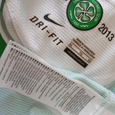 "Celtic FC 125 Years Home Shirt 2012-2013 (XL) ""Very Good"""