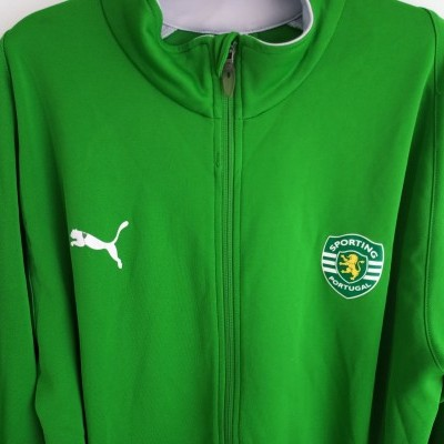 "Sporting CP Track Top Jacket 2006-2007 (L) ""Good"""