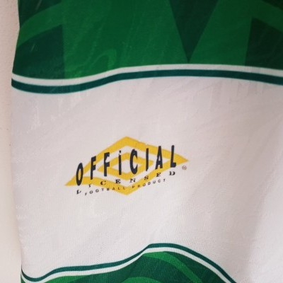 "Celtic Glasgow FC Home Shirt 1993-1995 (L) ""Very Good"""