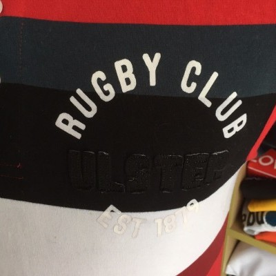 Ulster Rugby Polo Shirt (S) Ireland