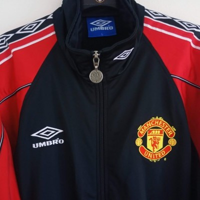 """Manchester United Tracksuit Top Jacket 1998-1999 (L) """"Very Good"""""""