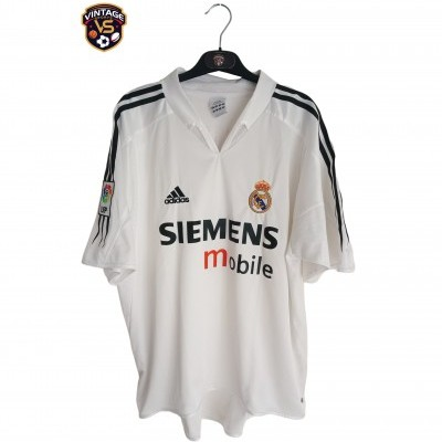 "Real Madrid Home Shirt 2004-2005 #9 Ronaldo (L) ""Very Good"""