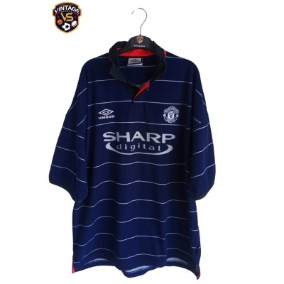 "Manchester United Away Shirt 1999-2000 (XXL) ""Very Good"""