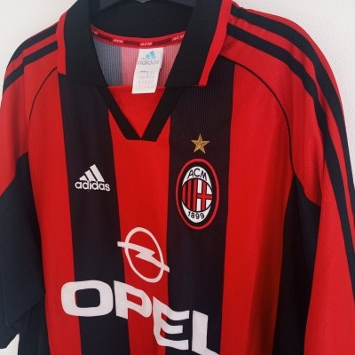 "AC Milan Home Shirt 1998-1999 (XL) ""Very Good"""