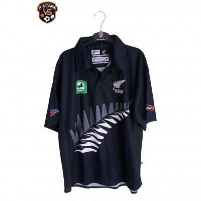 "New Zealand Blackcaps Cricket Shirt (S) ""Very Good"""