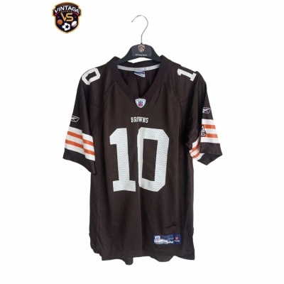 """Cleveland Browns NFL Jersey #10 Quinn (L Youhts) """"Very Good"""""""