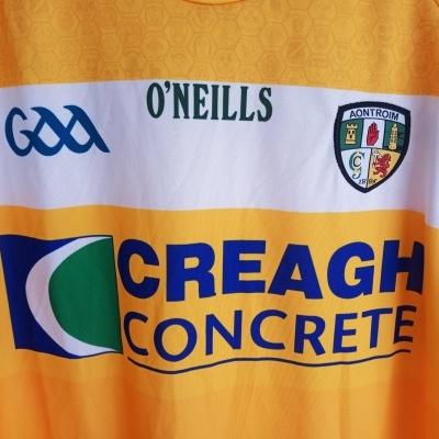 NEW Aontroim Antrim GAA Gaelic Home Shirt (M)