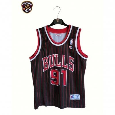 "Chicago Bulls NBA Jersey 1990s #91 Rodman (S) ""Good"""