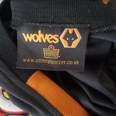 "Wolverhampton Wanderers FC Away Shirt 2003-2004 (S) ""Very Good"""