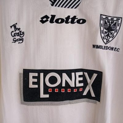 """FC Wimbledon Third Shirt 1997-1999 (L) """"Very Good"""""""