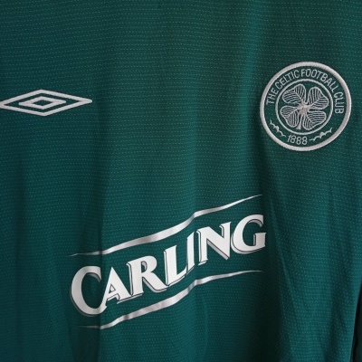 "Celtic FC Away Shirt L/S 2004-2005 (XL) ""Very Good"""